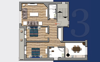 Apartament Azure