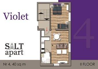 Apartament Violet