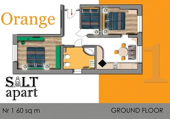 Apartament Orange